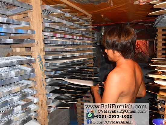 Airbrush Surfboards Factory in Bali Indonesia