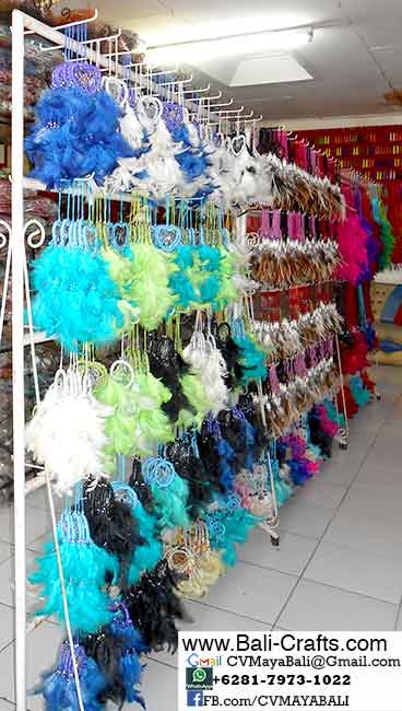 buying Dreamcatchers from Bali