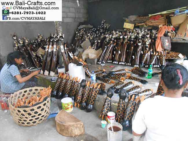 Crafts Factory in Bali