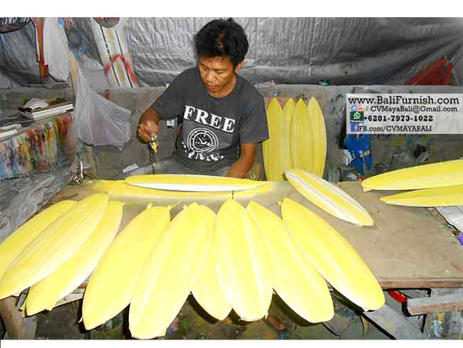 Surfboard Factory in Bali
