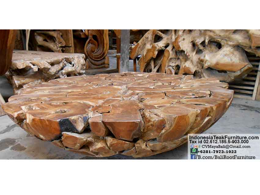 tkroot--teak-root-wood-table-furniture  Bali-Crafts