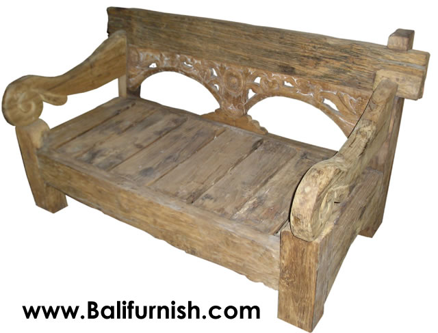 Teak Wood Daybed from Bali Indonesia