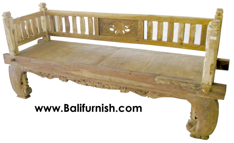 Teak Wood Furniture Daybed Bali Indonesia  Bali-Crafts