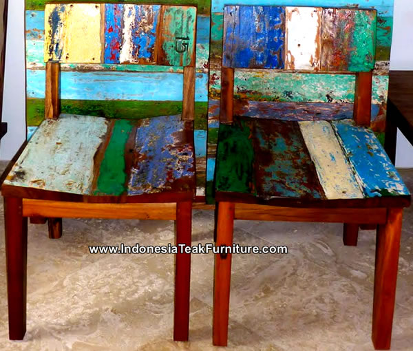 Attractive Reclaimed Boat Wood Furniture ...