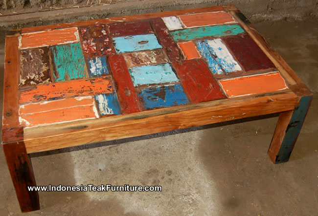 Lovely Reclaimed Boat Wood Furniture ...