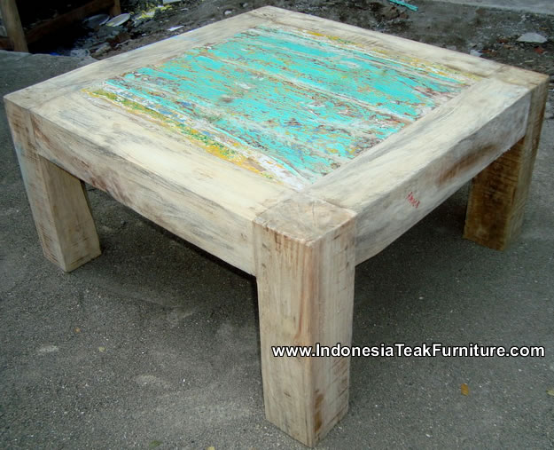 Reclaimed Boat Wood Furniture ...