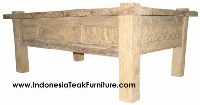 Teak Wood Coffee Table ...