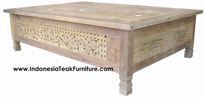 Teak Wood Coffee Table Bali Indonesia