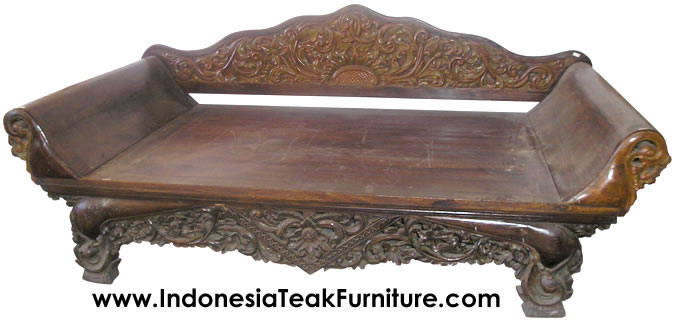 Teak Wood Daybeds Bali Indonesia Furniture  Bali-Crafts
