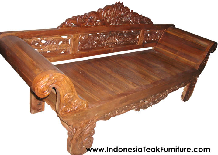 Teak Wood Daybeds Bali Indonesia Furniture. Teak Wood Daybeds Bali Indonesia Furniture   Bali Crafts com